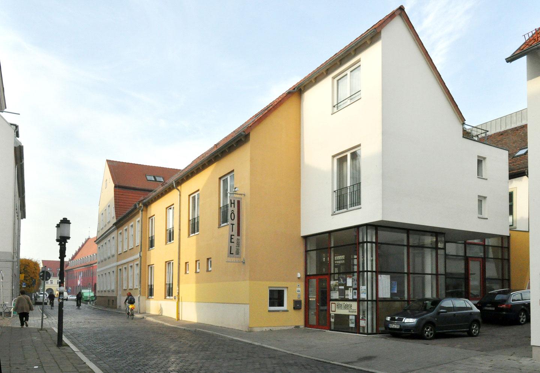 Im Zentrum Der Stadt Greifswald Hotel Galerie
